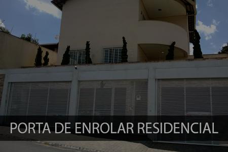 Porta de enrolar residencial