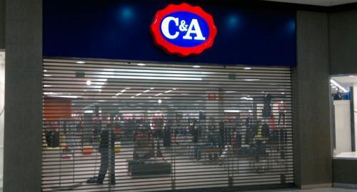 porta_de_enrolar_loja_c&a enrolar_comercial
